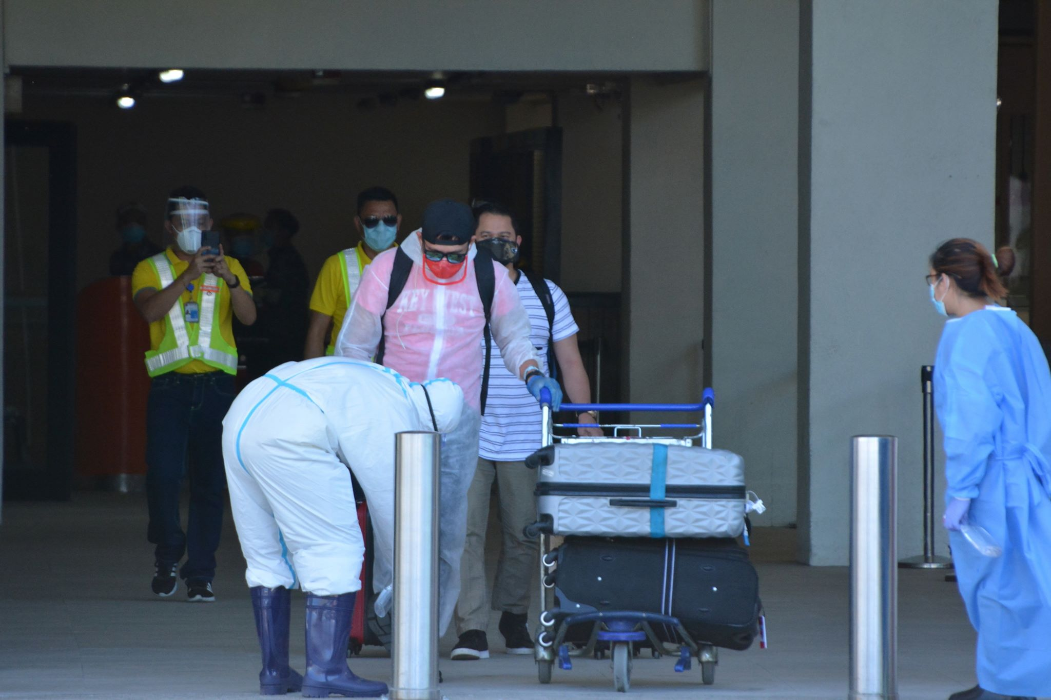 OFWS NOW UNDERGO 5-DAY QUARANTINE IN CEBU